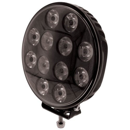 Ignite 7-Inch Combined Spot and Flood Beam Light 9-36V Black Fascia