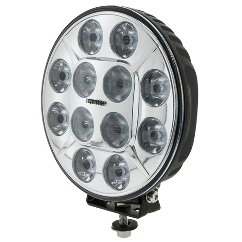 Ignite 7-Inch  LED Combined Spot and Flood Beam Light 9-36V Chrome Fascia
