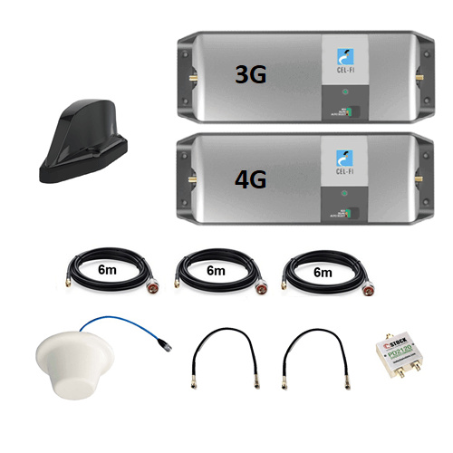 Cel-Fi GO Telstra Rail/ Train 3G/4G Kit