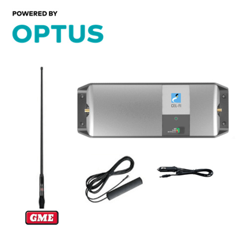 Cel-Fi GO2 Optus Trucker/4WD GME AT4705B Pack